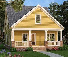Plan 75532GB: Narrow Lot Cottage