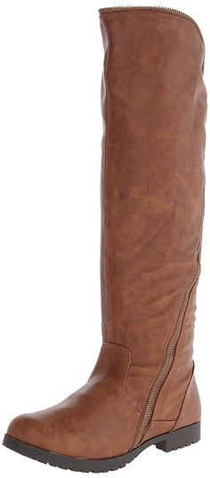 Qupid Women's Wyatte 13 Riding Boot *** Awesome boots. Click the image : Knee high boots