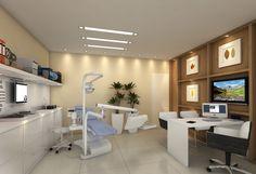 Sala do dentista. Empreendimento Cube³. Projeto da arquiteta Pricila Dalzochio…