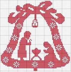 Campanella di Natale « crocettando.