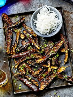 Miso and aubergine is a match made in heaven, and this recipe is perfect for the BBQ this summer. Make sure you check the miso is vegan.