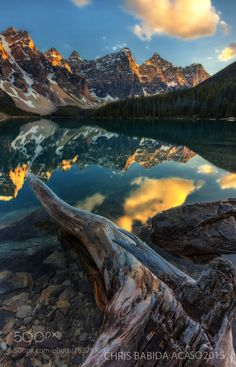 """THE VALLEY OF THE TEN PEAKS by chrisbabidaacaso. Please Like <a href=""""http://fb.me/go4photos"""" rel=""""nofollow"""" target=""""_blank"""">fb.me/go4photos</a> and Follow @go4fotos Thank You. :-)"""