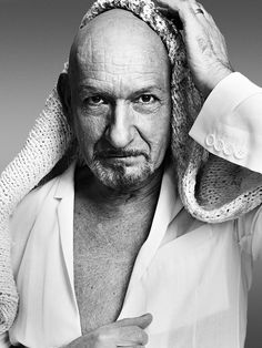 """Sir Ben Kingsley.  We didn't meet, but I'm calling it somewhere between  Zero and One Degree.  I was waiting for Caris on the set of """"Mrs. Harris."""" and we passed each other in the hall, where he bumped elbows with me.  :)"""