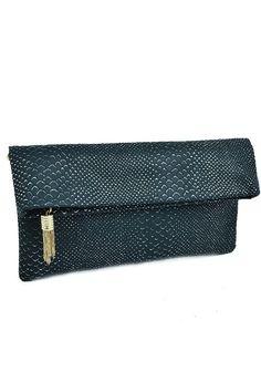Selina Clutch Bag- black - $59.00