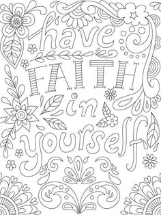 Adult Coloring Book: Inspirational Quotes by JadeSummerColoring