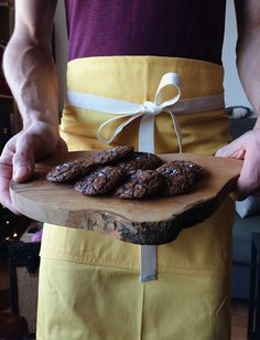 Gooey on the inside, crisp and flakey on the outside. Rye flour adds a fantastic nutty flavour. Rye Flour, Salted Chocolate, Crisp, Cookies, Baking, Crack Crackers, Biscuits, Bakken, Cookie Recipes