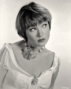 Portrait of Shirley MacLaine for 'Some Came Running' directed by Vincente Minnelli, 1958 [unknown photographer]