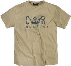 Tee-shirt allsize Réplika composé de Coton 100%  Très beau coloris sable foncé avec imprimé poitrine Manches courtes  Renfort au col rond    Toutes les Tailles - xxl vous propose ce tee-shirt grande taille pour homme  dans les tailles xL au 8 XL