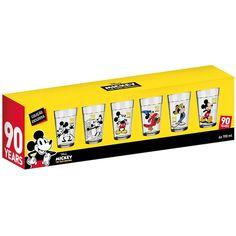 Jogo de Copos Americanos Mickey Mouse Linha do Tempo 6 Peças - Copos | Extra | 11709352