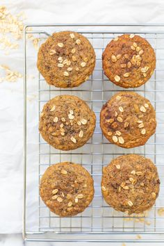 Banana protein muffins that are moist, fluffy, and full of flavor! These will definitely become a healthy recipe staple for your family. Add pecans or other nuts for even more protein and a little texture. They're naturally sweetened and a perfect on-the-go easy breakfast with protein (great for kids and families!). Banana Protein Muffins, Protein Breakfast, Toddler Meals, Kids Meals, Easy Meal Prep, Easy Meals, Sweet Desserts, Pecans, Families