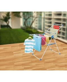 Tubello Clothes Drying Rack by Bonita Clothes Drying Racks, Clothes Dryer, Clothes Line, Diy Upcycled Clothing No Sew, Outdoor Chairs, Outdoor Furniture, Outdoor Decor, Wall Mounted Drying Rack
