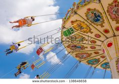 swing seat exciting amusement ride