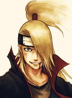 Deidara,Akatsuki - Naruto