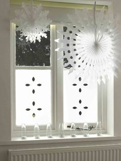 Paper Cut , Street Facing Windows & Frosted & Decorative Window Film from Brume Ltd Porch Canopy, Design Repeats, Traditional Interior, Window Coverings, Window Treatments, Window Film, Window Design, Modern Room, Windows And Doors