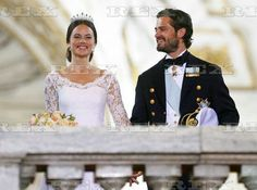 The wedding of Prince Carl Philip and Sofia Hellqvist, Royal Palace, Stockholm, Sweden - 13 Jun 2015 Prince Carl Philip and Sofia Hellqvist 13 Jun 2015