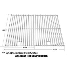 Shop Stainless Steel Cooking Grid For CENTRO 2000, 4000, 8512102, G40204 Gas Grill Models