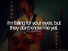 My favorite line from any Ed song<3