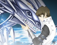 Seto Kaiba & Blue-Eyes White Dragon