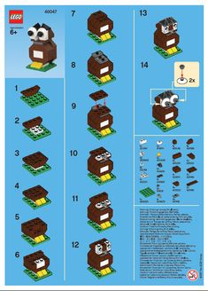 how to build small easy lego creations | Email This BlogThis! Share to Twitter Share to Facebook Share to ...