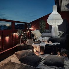 This roof terrace looks absolutely lovely | photo by @fotografanders for @entrancemakleri