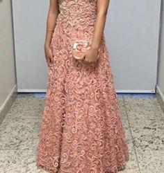 vestido de festa longo bordado - vestidos de festa erva doce