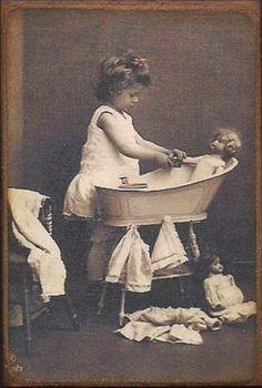 Bath Time Dolly