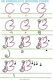 Image result for drawing with letters and numbers syd hoff