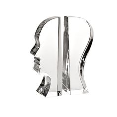 Charm and Wisdom with the touch of crystal. Design By Karim Rashid for Vista Alegre Karim Rashid, Atlantis, Book Holders, Gifts For Office, Have Some Fun, Fathers Day Gifts, Decorative Items, Bookends, Objects