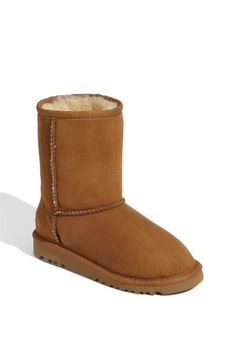 Uggs in Chesnut- go with everything!!! worth the investment- especially if you travel to cold weather