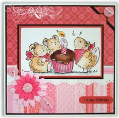 penny black critter party | Penny Black Cards