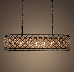 1000 Ideas About Rectangular Chandelier On Pinterest