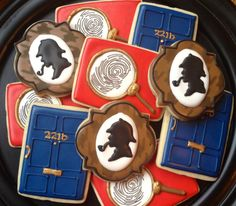 Sherlock Holmes Cookies, by Not Betty Cookies