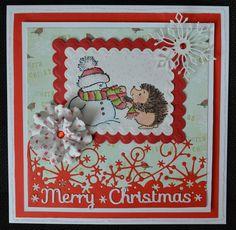 Penny Black Christmas card x