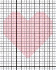 Premee crochet heart blanket