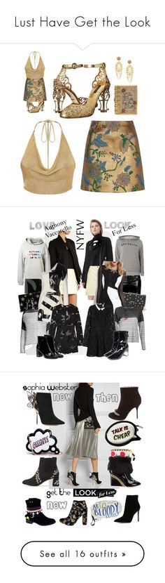 """""""Lust Have Get the Look"""" by alexxa-b ❤ liked on Polyvore featuring River Island, Dolce&Gabbana, Judith Leiber, shoes, embellished, Anthony Vaccarello, MANGO, Topshop, Yves Saint Laurent and Dorothy Perkins"""