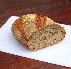 - Linseed Deli Bread - sourdough and yeasted poolish