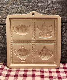 1996 teapot Cut-Apart Brown Bag Cookie Art mold