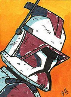 Star Wars Episode 2, Fun Stuff, Geek Stuff, Super Troopers, Star Wars Baby, Star Wars Clone Wars, Clone Trooper, Art Pictures, Nerd