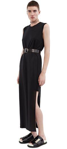 ACNE STUDIOS Ordelia Tencel Black. #acnestudios #cloth #dresses