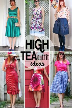 Today S Everyday Fashion High Tea Amp Hats Fashion Tea