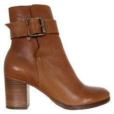 H by Hudson Poplar Tan Boots ($200) found on Polyvore