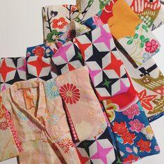Esperando a ser cosidos! #kimono #blythe #pureneemo #licca #obitsu