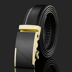 Aliexpress.com : Buy 2015 top selling lucury men belt high end leather strap gold automatic buckle belts free shipping LB069 from Reliable belt buckle ring suppliers on LCY Men Fashion Accessories World | Alibaba Group