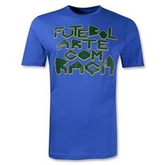 Brasil Nike National Team Soccer t-shirt NWT Samba seleção Brazil Futebol Arche Com Raca