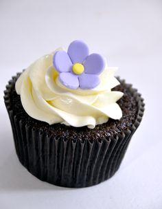 Cupcakes de chocolate | Cupcakeando