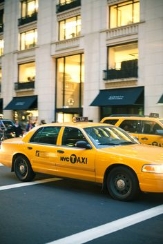 in the fast lane // new york city,  love to ride the cabs  in nyc