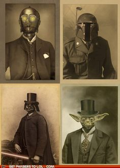 If Star Wars was Steampunk.