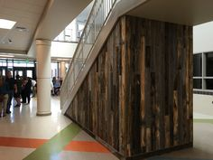 Healthy Building Materials For Schools Under Stairs Stairs Design Reclaimed Wood