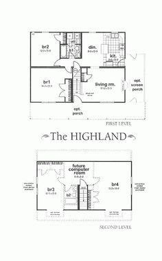 Fotos de casa pequeña de dos niveles1