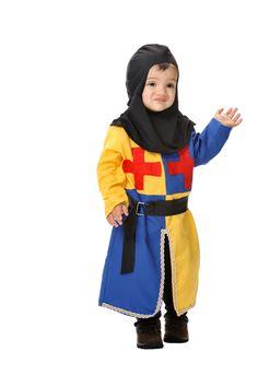 Disfraz de guerrero #medieval para bebe